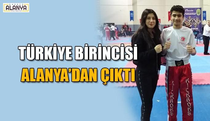 Türkiye birincisi Alanya'dan çıktı