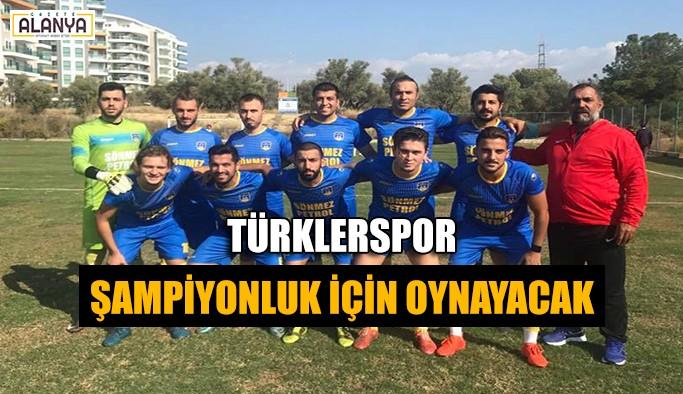 Türklerspor şampiyonluk için oynayacak