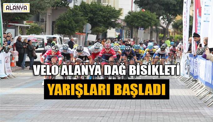Velo Alanya Dağ Bisikleti yarışları başladı