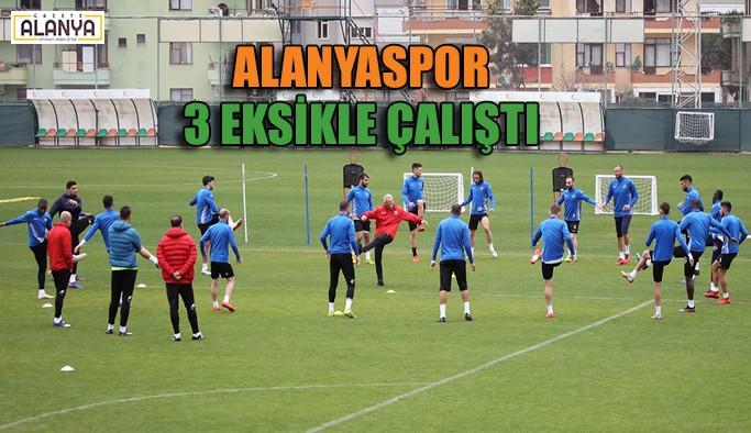 Alanyaspor Erzurum hazırlıklarına başladı