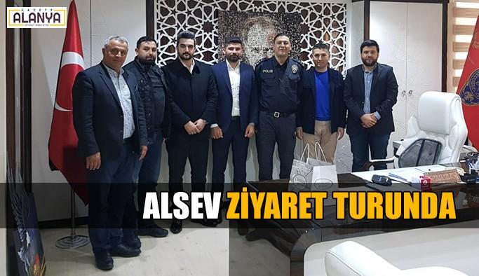 ALSEV'den ilk ziyaret Kaymakam Harputlu'ya