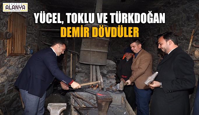 Cumhur İttifakına Türktaş'ta meşaleli karşılama