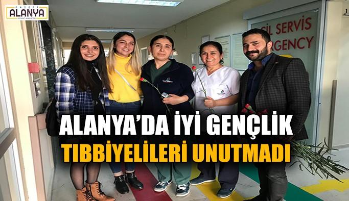 Millet İttifakı'nın gençleri Alanya'da tıbbiyelileri unutmadı