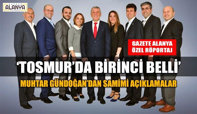 Tosmur, Gündoğan'la kaldığı yerden devam edecek