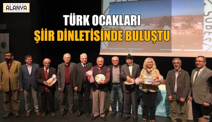 'Türk Ocaklarından beyaz hüzün gecesi'