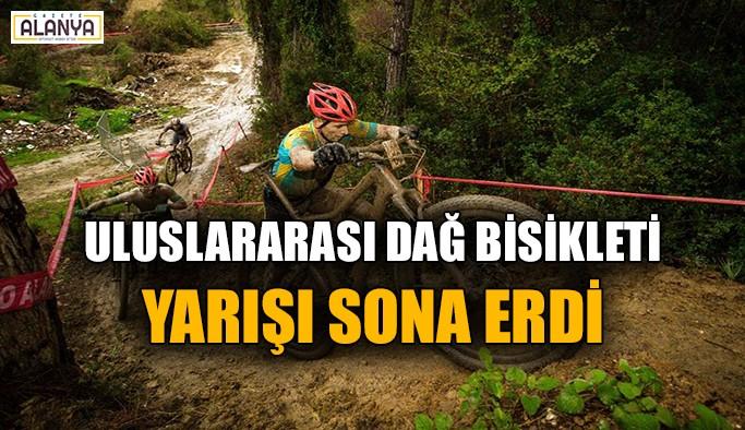 Uluslararası Dağ Bisikleti Yarışı sona erdi