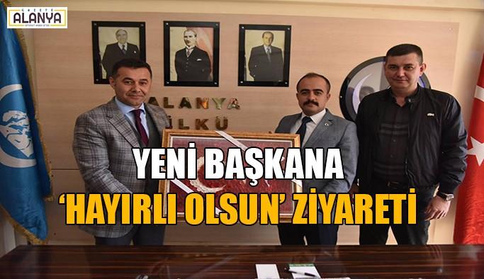 Yücel ve Türkdoğan'dan hayırlı olsun ziyareti