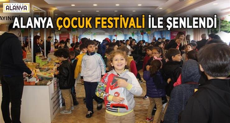 Alanya Çocuk Festivaliyle şenlendi
