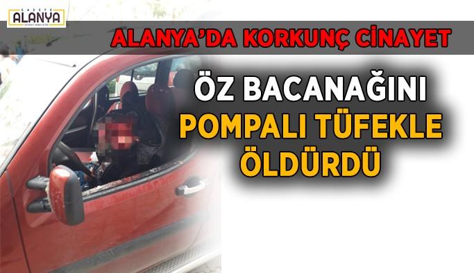 Alanya'da korkunç cinayet: 1 ölü, 1 yaralı var!
