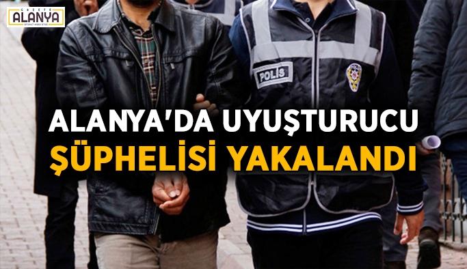 Alanya'da uyuşturucu şüphelisi yakalandı