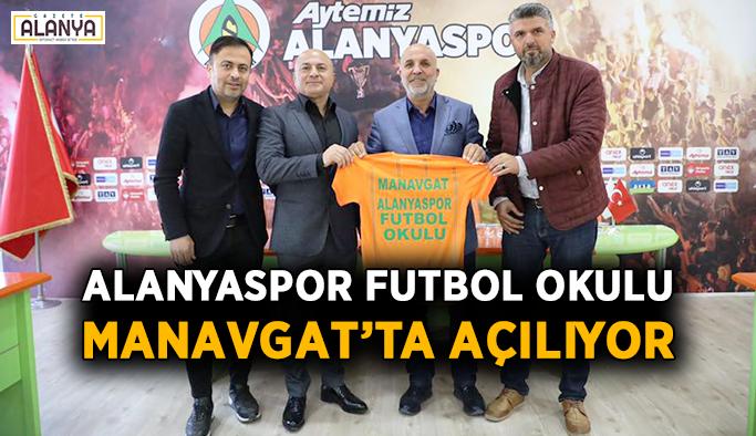 Alanyaspor Futbol Okulu Manavgat'ta açılıyor