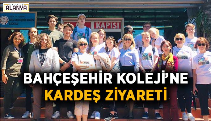 Bahçeşehir Koleji Alanya'ya kardeş ziyareti