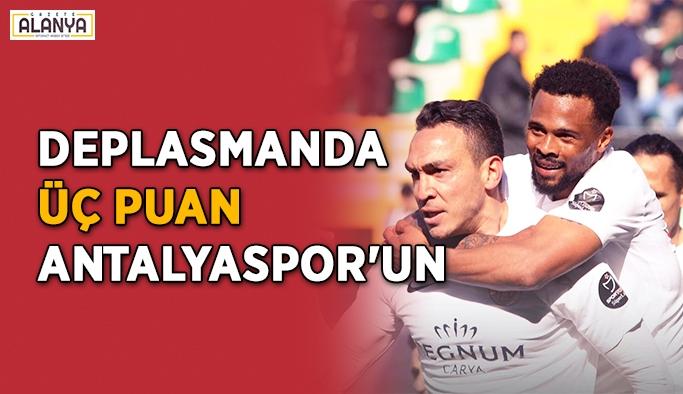 Deplasmanda üç puan Antalyaspor'un