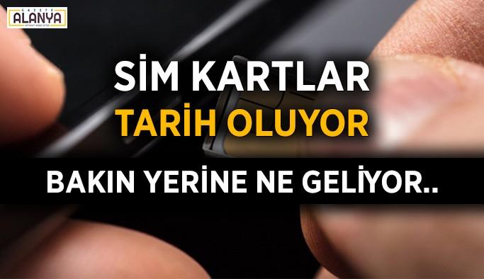 eSIM teknolojisi Türkiye'ye geliyor