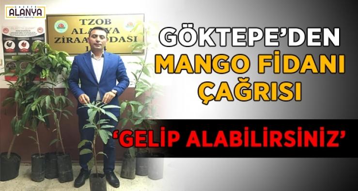 Göktepe'den mango fidanı çağrısı! İsteyen gelsin