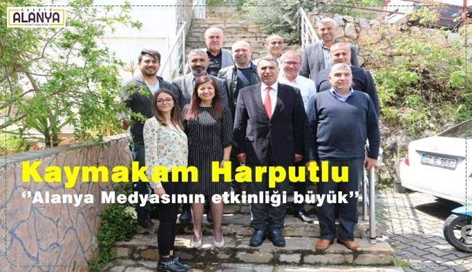 Kaymakam Harputlu Alanya Basınını övdü