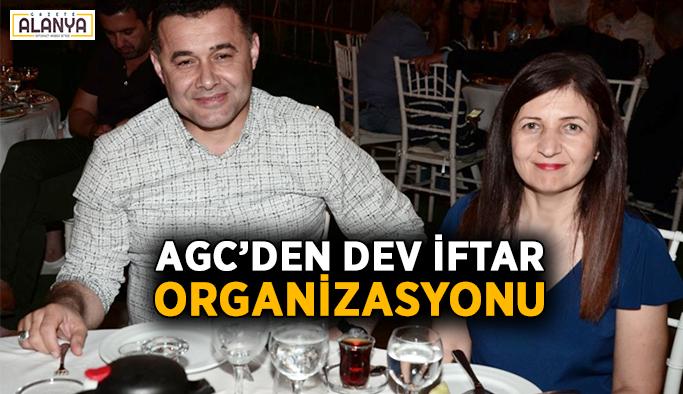 AGC'den dev iftar organizasyonu