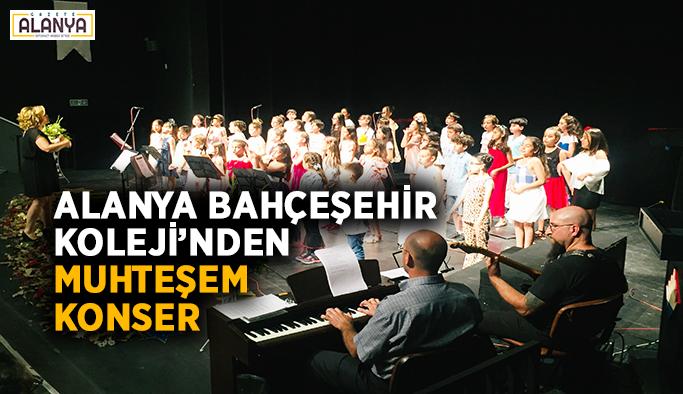 Alanya Bahçeşehir Koleji'nden muhteşem konser