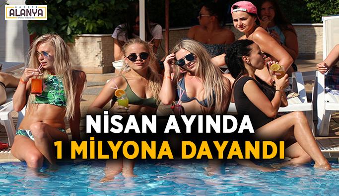 İşte Antalya'ya nisan ayında gelen turist sayısı