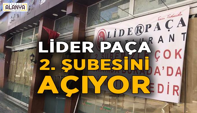 Lider Paça ikinci şubesini açıyor