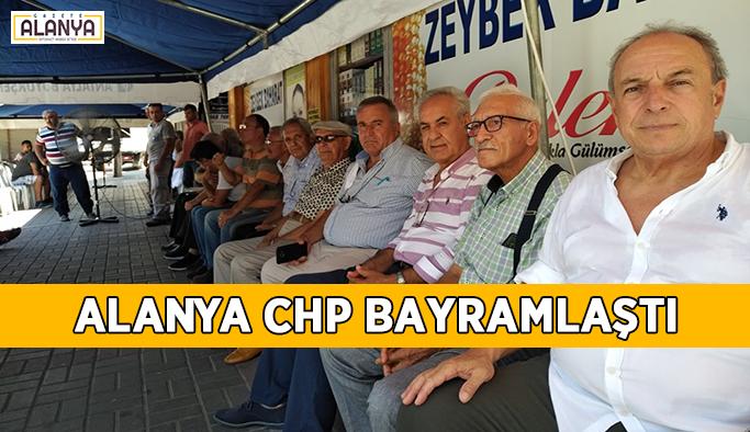Alanya CHP bayramlaştı