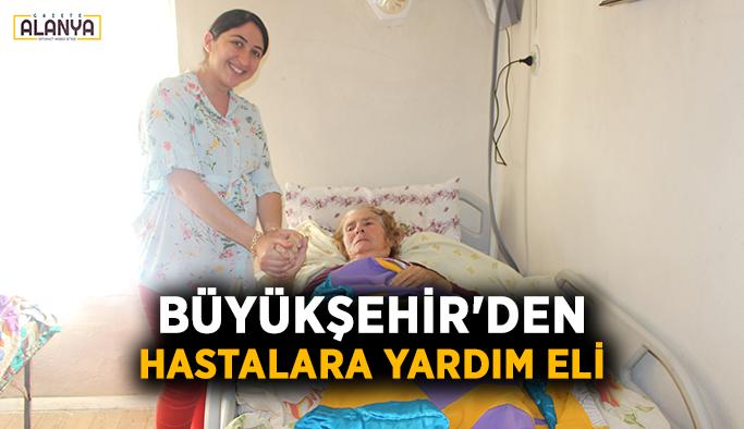 Büyükşehir'den hastalara yardım eli