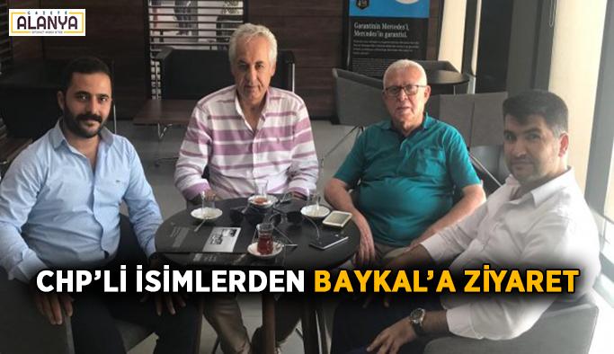 CHP'li isimlerden Baykal'a ziyaret