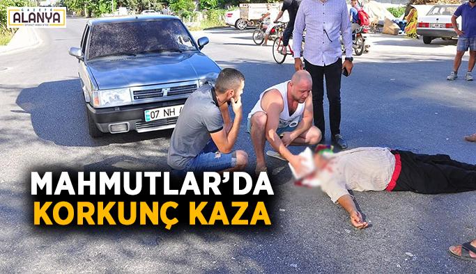 Mahmutlar'da korkunç kaza