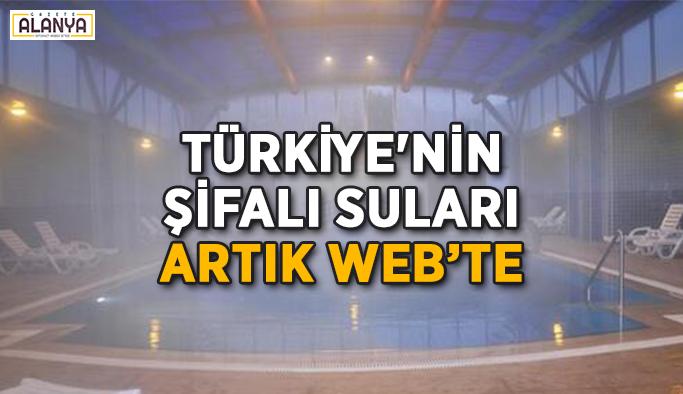 Türkiye'nin şifalı suları artık web'te
