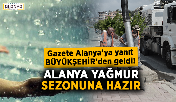 Gazete Alanya'ya yanıt Büyükşehir'den geldi