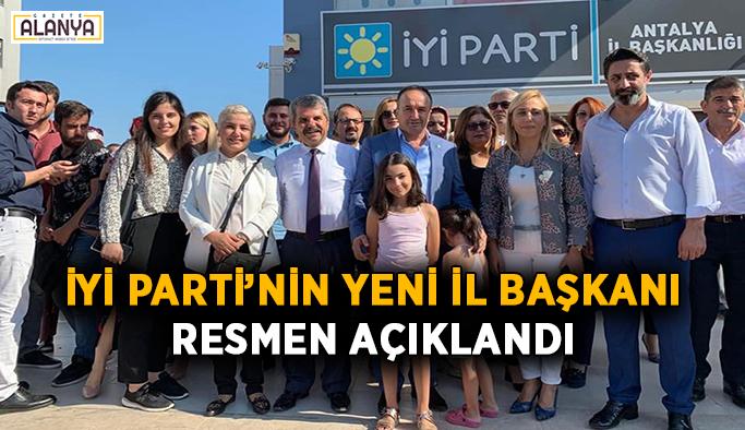 İYİ Parti'nin yeni il başkanı resmen açıklandı