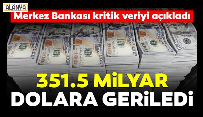 Merkez Bankası kritik veriyi açıkladı