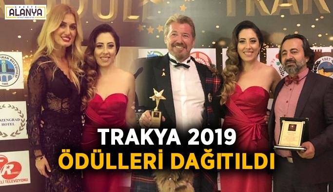Trakya 2019 ödülleri dağıtıldı
