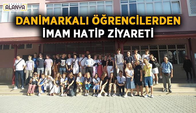 Danimarkalı öğrencilerden İmam Hatip ziyareti