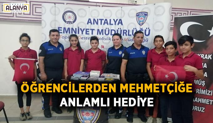 Öğrencilerden Mehmetçiğe anlamlı hediye