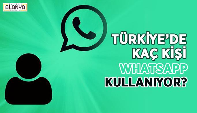 Türkiye'de kaç kişi WhatsApp kullanıyor?