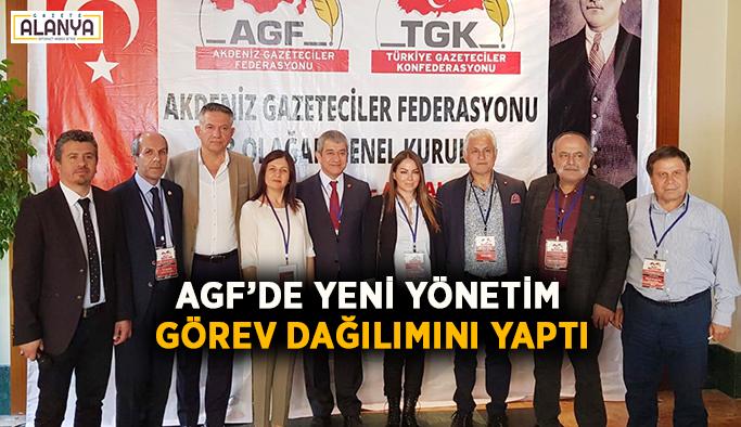 AGF'de yeni yönetim görev dağılımını yaptı