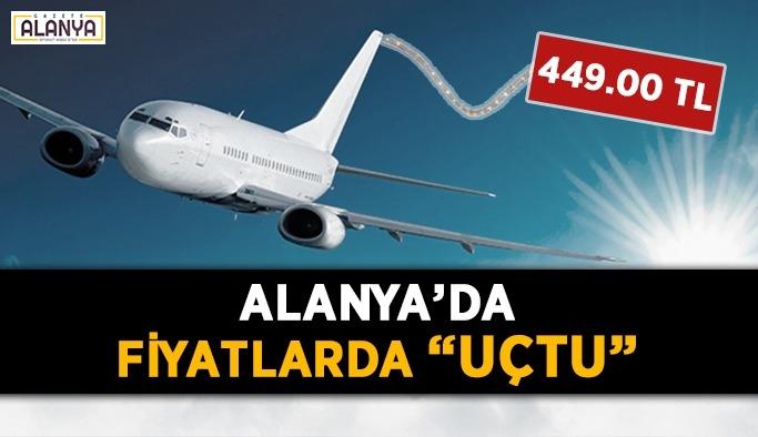 Alanya'nın uçak bileti tepkisi! 449.00 TL