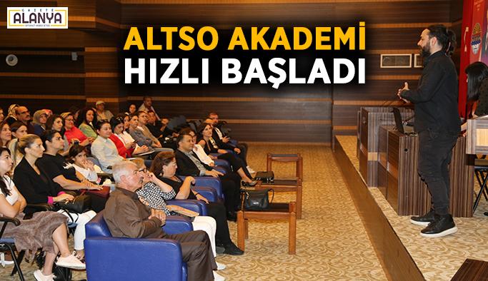ALTSO Akademi hızlı başladı