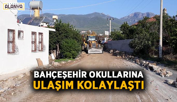 Bahçeşehir Okullarına ulaşım kolaylaştı