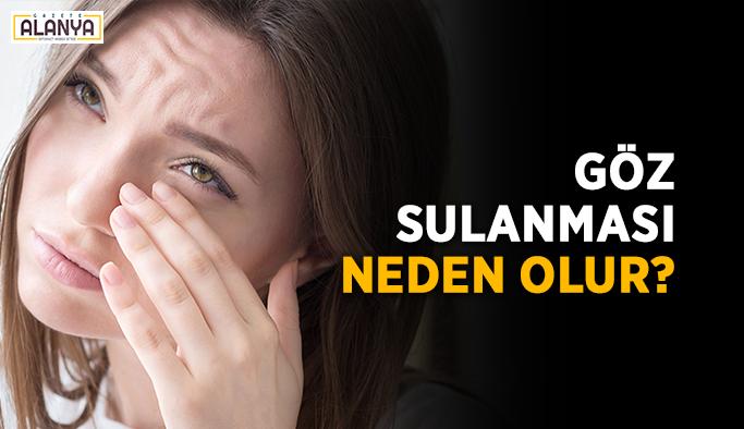 Göz sulanması neden olur?