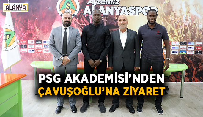 PSG Akademisi'nden Çavuşoğlu'na ziyaret