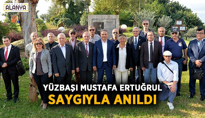 Yüzbaşı Mustafa Ertuğrul saygıyla anıldı