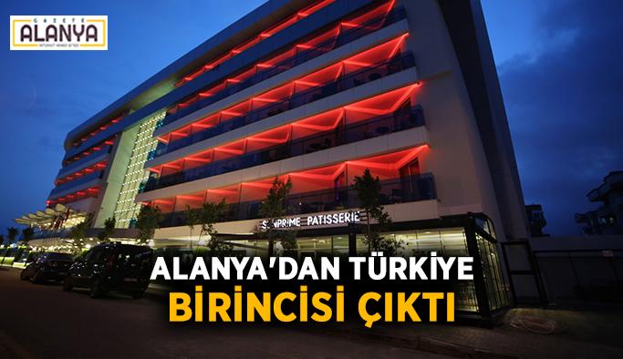 Alanya'dan Türkiye birincisi çıktı