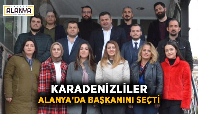 Karadenizliler Alanya'da başkanını seçti