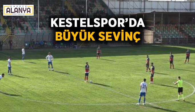 Kestelspor'da büyük sevinç