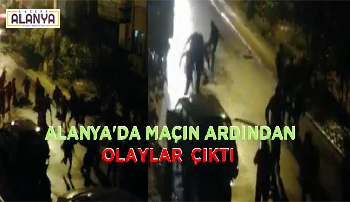 Polis ve jandarma müdahale etti