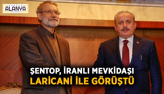 Şentop, İranlı mevkidaşı Laricani ile görüştü