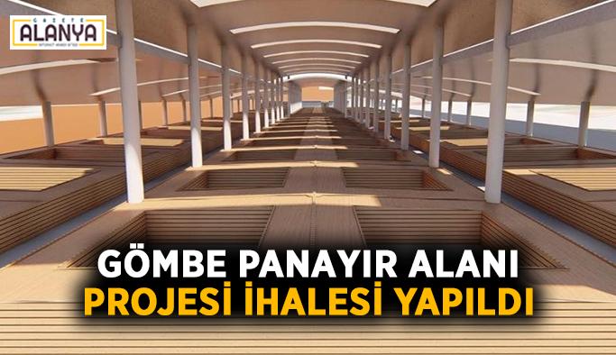 Gömbe Panayır Alanı projesi ihalesi yapıldı