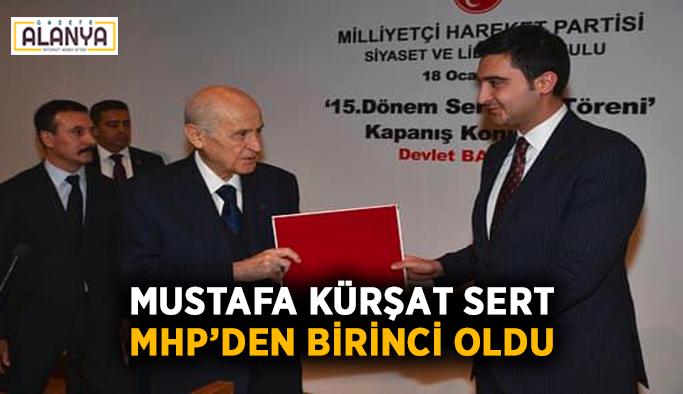Mustafa Kürşat Sert MHP'den birinci oldu